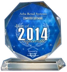 Award - Best of Naperville 2014 - Software - PoS