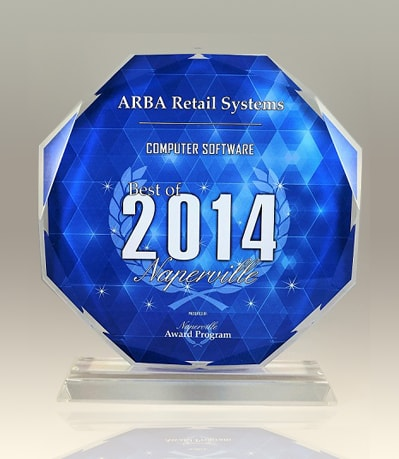 ARBA Retail Systems – Computer Software Best Of 2014 Award Naperville