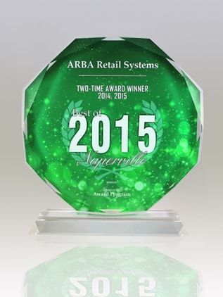 ARBA Retail Systems – Two Time Award Winner 2014 & 2015 Naperville