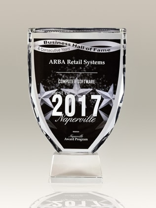 2017 ARBA Retail System Computer Software award POS System Inventory Management