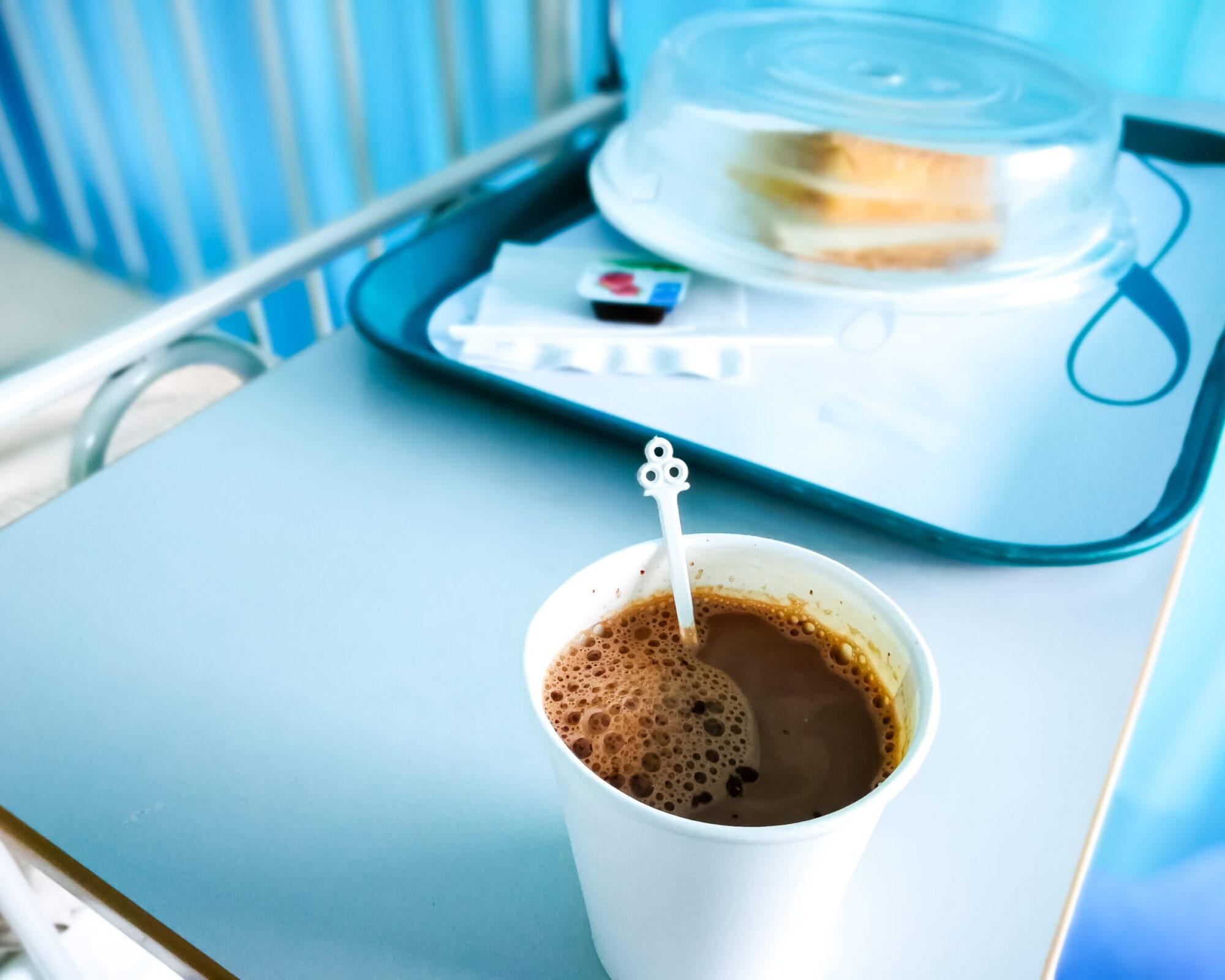 Hospital Cafe food